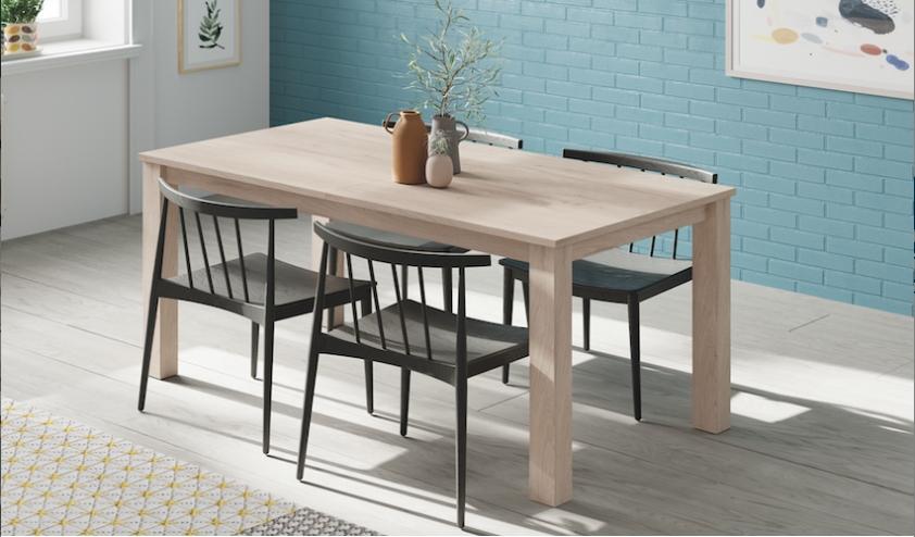 Pinceladas sobre qué mesas y sillas escoger